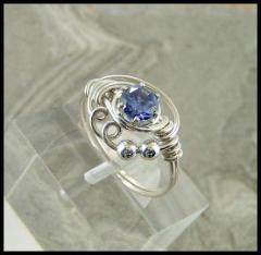 Prong Ring Tanzanite Silver X